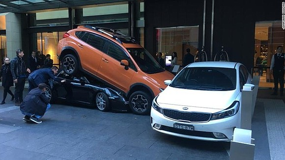 If you think you had a tough morning at work, spare a thought for this hotel valet in Sydney. Tasked ...