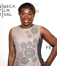 "In this April 20, 2018 file photo, Joy Reid attends the Tribeca TV screening of ""Rest in Power: The Trayvon Martin Story"" during the 2018 Tribeca Film Festival in New York. (Photo by Evan Agostini/Invision/AP, File)"
