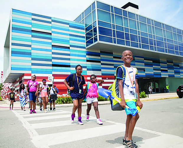 The Gary Comer Youth Center is currently enrolling students in their six-week summer camp for rising 3rd-grade to 8th-grade students.  Photo credit: Gary Comer Youth Center