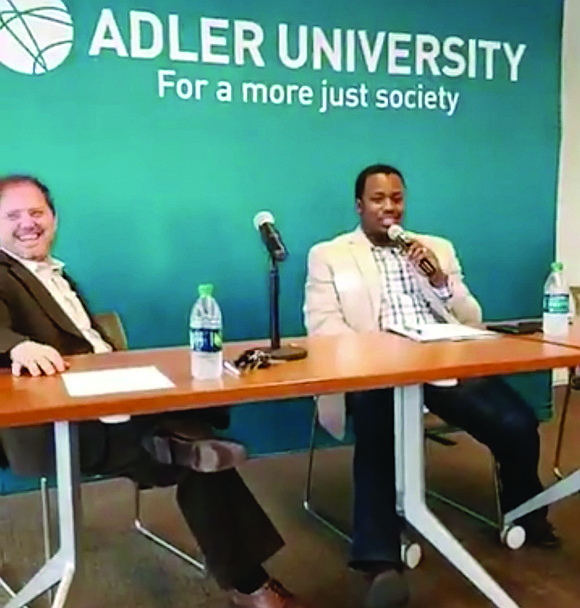 A recent panel discussion held at Adler University brought together three community activists to discuss War on Neighborhoods, a book ...