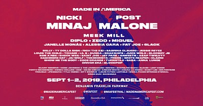 MADE IN AMERICA, the JAY-Z curated two-day music festival and staple of Labor Day Weekend, returns to Philadelphia for a ...