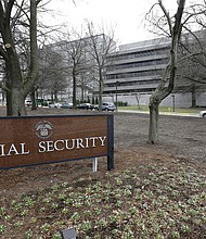 The Social Security Administration's main campus is seen in Woodlawn, Md. (AP Photo/Patrick Semansky, File)