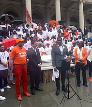 Gun Violence Awareness Month rally