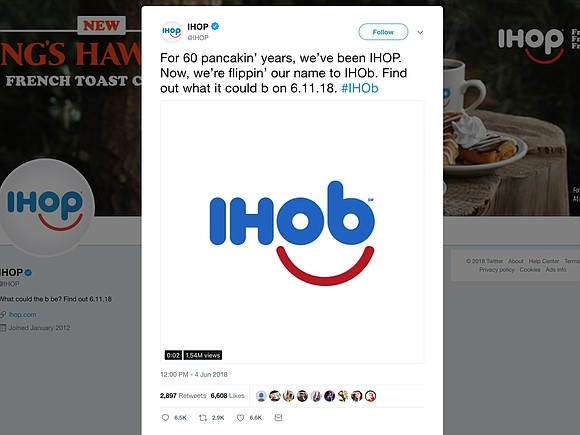 IHOP stands for International House of Pancakes. The chain has been around for 60 years and has used the IHOP ...