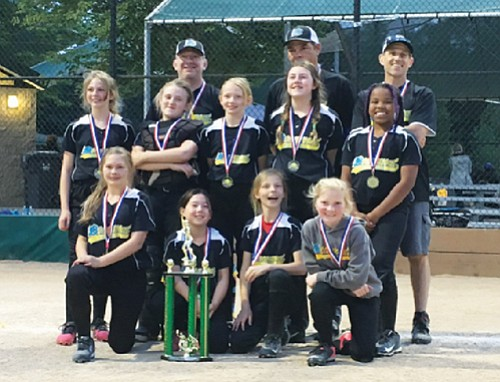 Congratulations to the MJP Property Management team girls from the Beaumont Softball Little League in northeast Portland for their Minors ...