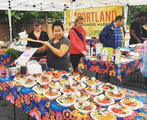 Cooking and crafting classes return this summer to the King Portland Farmers Market which is held each Sunday at King School Park in northeast Portland.