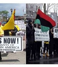 Reparations for African Americans March and Rally in Newark
