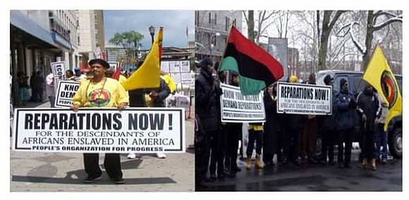 The People's Organization for Progress is hosting the March and Rally for Reparations in Newark Saturday, June 23, at noon