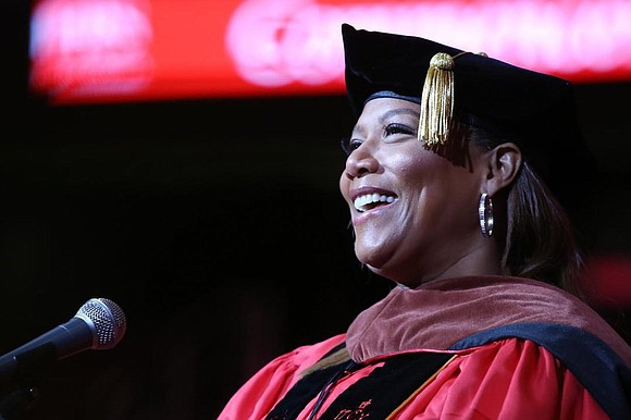New Jersey Lt. Gov. Sheila Oliver, Queen Latifah and Anita Hill gave life lessons during their commencement speeches at three ...