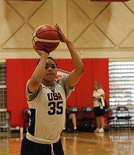 Harlem's Jordan Nixon will play internationally with USA Basketball before starting her Freshman year at Norte Dame.