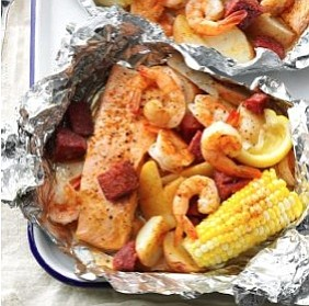 Grilled Seafood Packs