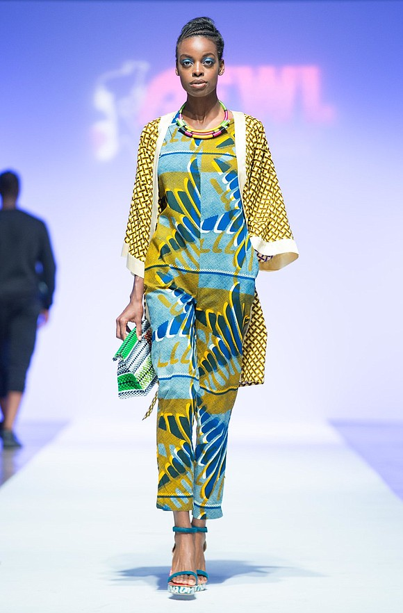 From Africa Fashion Day in Berlin, Soboye's show at Mercedes-Benz Fashion Week was a huge success.