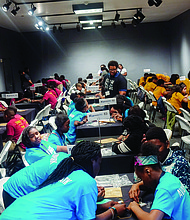 Project SYNCERE recently hosted it's inaugural ENpowered Games annual event that brought together students from 16 schools on Chicago's south and west sides to participate in a one-day engineering competition at the Museum of Science and Industry.