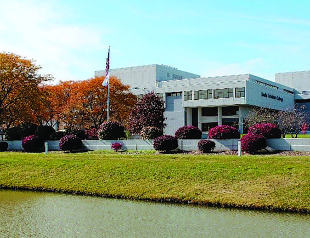 A photo showing the campus of South Suburban College.