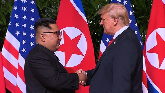 President Donald Trump said he trusts Kim Jong Un and that he has received the same trust in return following ...