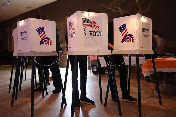 Five states head to the polls on Tuesday in primary elections that will set up some of the most critical ...