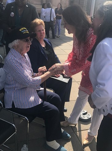 Texas First Lady Cecilia Abbott today attended the first annual Texas Women Veterans Day Celebration at the Texas State Capitol. ...