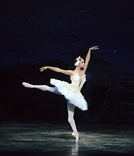 "Misty Copeland in ""Swan Lake"""