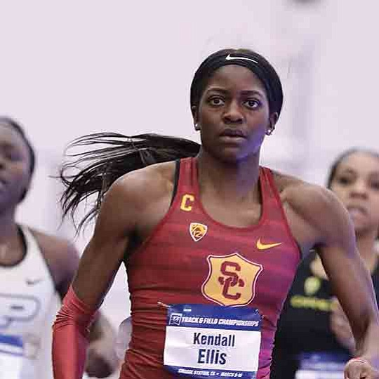 The USC 4x400-meter relay team, whose dramatic come-from-behind victory last weekend gave..