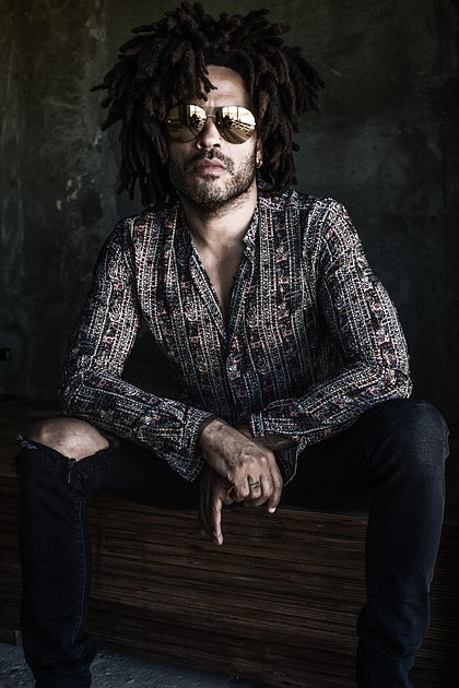 Lenny Kravitz/photo by Mathieu Bitton