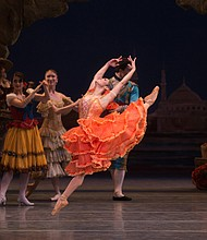 "Misty Copeland as Kitri in ""Don Quixote"""