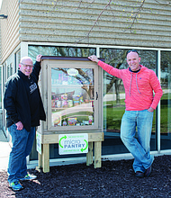 MICRO PANTRY INSTALLED IN MATTESON Prairie State College recently installed a Micro Pantry at their Matteson Area Center, 4821 Southwick Dr.