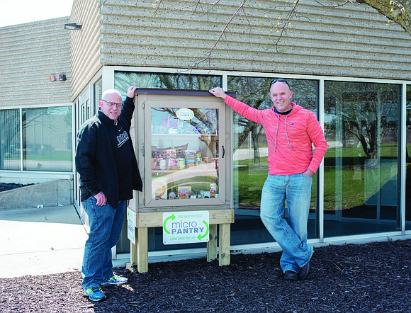 Prairie State College recently installed a Micro Pantry at their Matteson Area Center, 4821 Southwick Dr., as a new resource ...