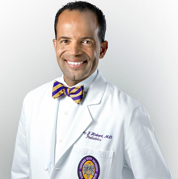 """Dr. Corey Hébert, M.D., aka """"The Doctor for The People,"""" and EBONY today announced a partnership to bring awareness and ..."""