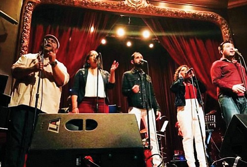 A tribute band to the Broadway hit musical Hamilton, called Rise Up, makes its Portland debut at the Alberta Rose ...