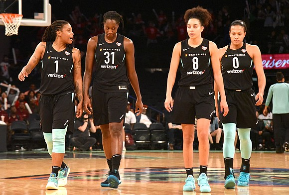 The New York Liberty headed to the West Coast on an upbeat note after a home court victory June 19, ...