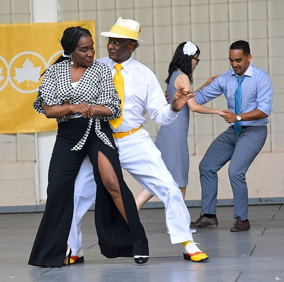 NYC Parks recently hosted A Night of Jazz & Swing with the Harlem Swing Dance Society and the Harlem Renaissance ...
