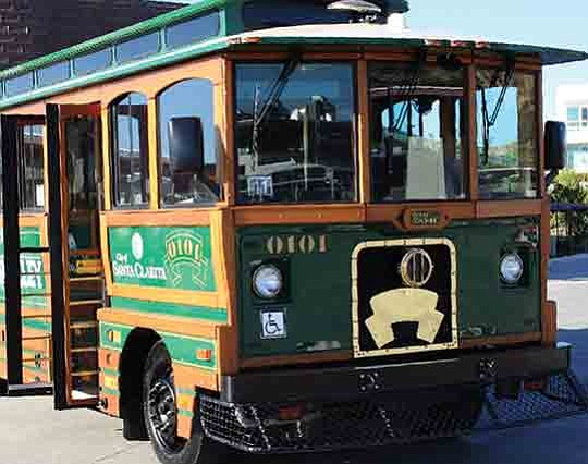 The city of Santa Clarita's popular Summer Trolley, which provides daily free rides to and from..