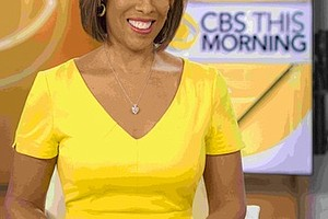 Gayle King, Note to Self author CREDIT John P.       Filo (CBS)