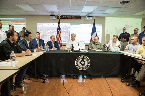 Governor Greg Abbott today joined local officials and emergency response personnel at the Emergency Operations Center in Edinburg, Texas to ...