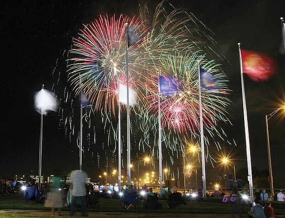 Fireworks will occur over Richmond skies and those in the counties in celebration of the Fourth of July holiday and ...