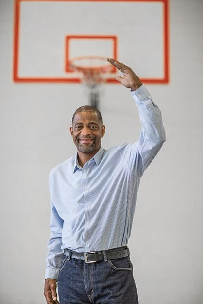 Raymond Neblett, the former basketball standout who once took a costly wrong turn, continues to make up for lost time.