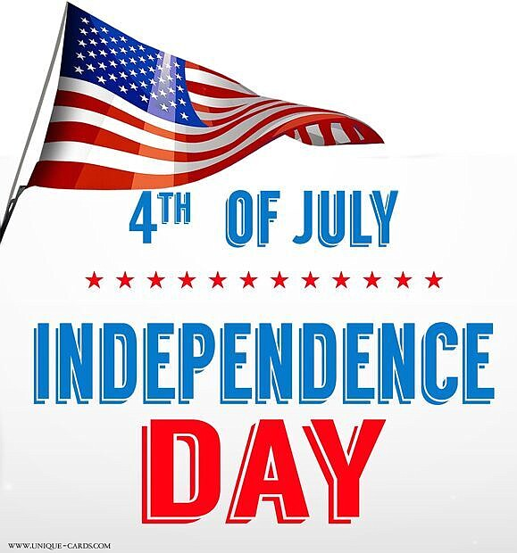 In observance of the Fourth of July holiday closing schedule