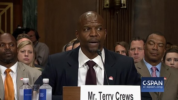Terry Crews has a simple response to those who question his #MeToo story.