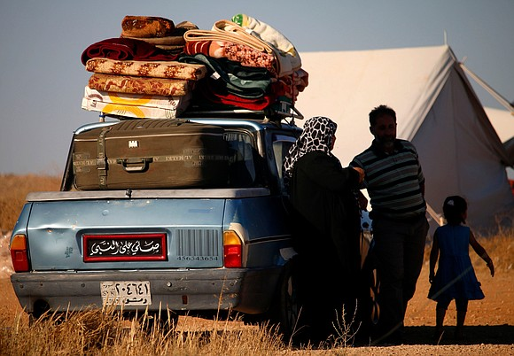 At least 270,000 Syrians -- more than the population of Orlando, Florida -- have fled their homes in southwest Syria ...
