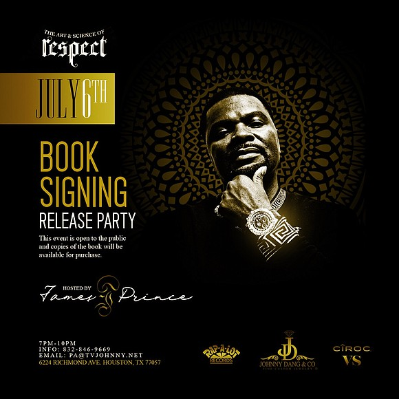 "he Houston community is invited to celebrate the release of ""The Art and Science of Respect: A Memoir by James ..."