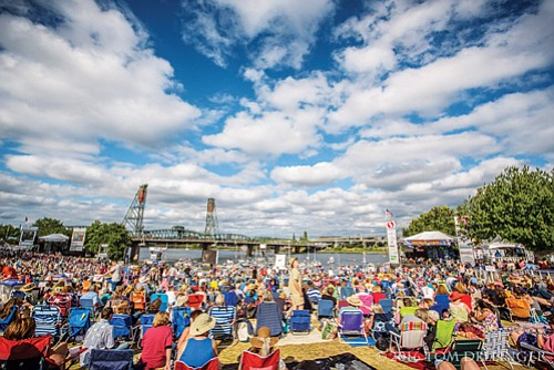 The Waterfront Blues Festival at Tom McCall Waterfront Park in downtown Portland is a Fourth of July holiday week tradition. This year's event runs four days Wednesday, July 4 through Saturday, July 7.