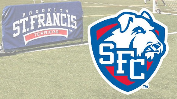 Things are busy in the athletic department of St. Francis College in Brooklyn.