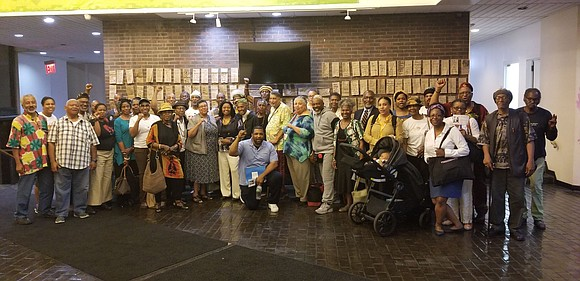 Bed-Stuy's CB3 voted 33 to 0 to co-name St. Claver Place Jitu Weusi Way. Some of Brooklyn's grassroots finest came ...