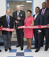 (L to R) Drs. Islam and Pato, Mr. William Walsh, Ms. Patricia Winston and Drs. Garnier and Guinn