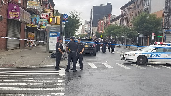 An NYPD detective was shot in the leg in Brooklyn Friday as he and his partners tried to apprehend a ...