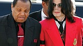 "Joseph ""Joe"" Jackson, patriarch of the famous musical family that bears his name, died on Wednesday, June 27, at age 89. He's shown here in 2005 with his superstar son, Michael, who died in June 2009."