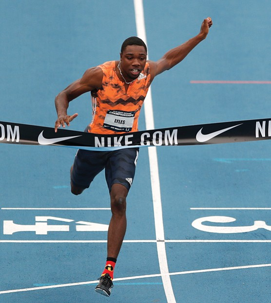A former Virginian is currently the fastest man on the planet.
