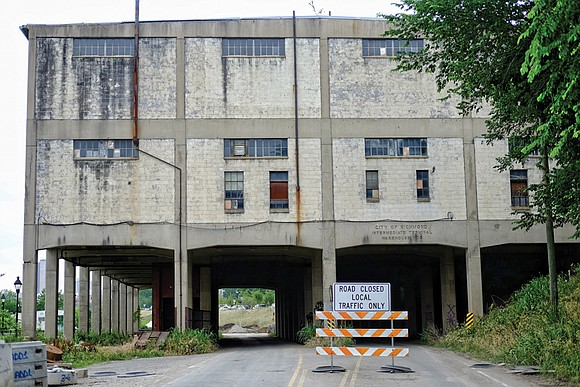 The fate of a landmark warehouse in the East End that was supposed to be transformed into Stone Brewing's destination ...