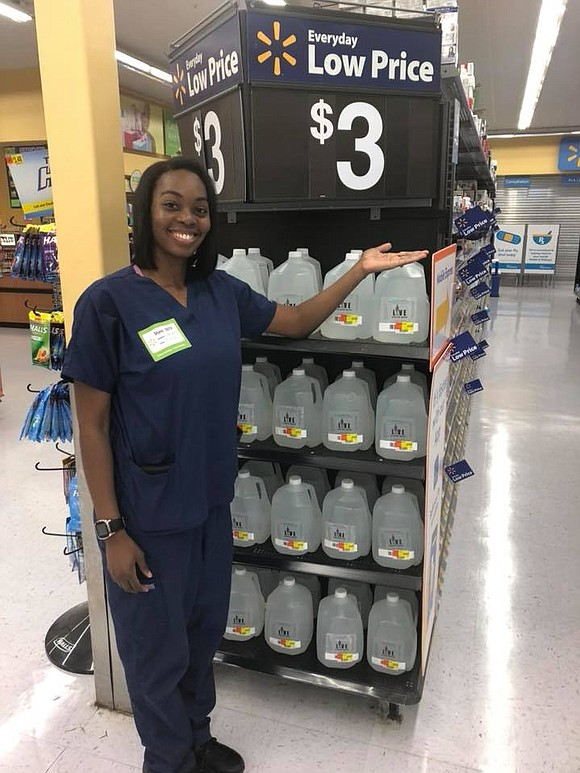 For the first time in history, Walmart is selling a Black-owned bottled water brand on its shelves.
