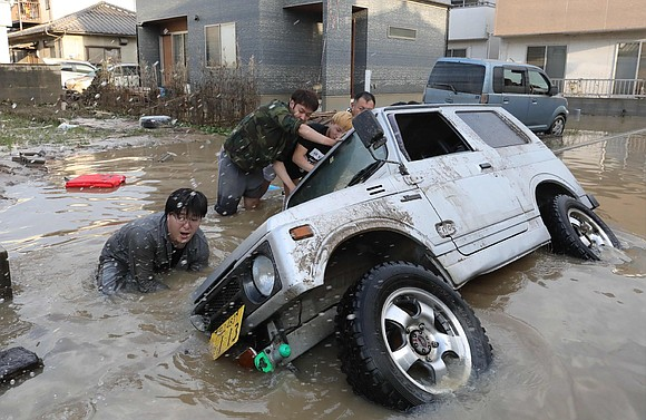 The rain may have stopped in Japan, but the country is facing a long recovery process after floods and landslides ...